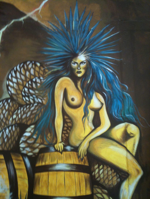 Mayahuel desnuda