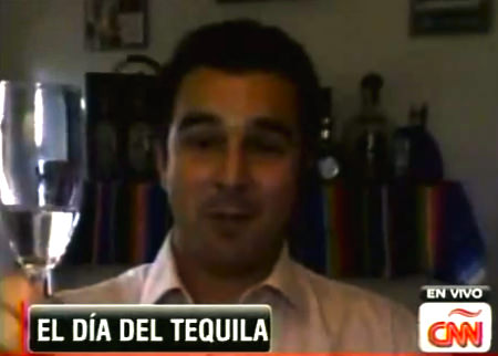 Experience Tequila founder Clayton Szczech live on CNN